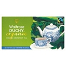 Waitrose Duchy Organic English Breakfast Tea - 25 Tea Bags 62.5g