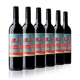 Bonavita Red Casa Santos Lima case of 6