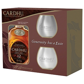 Cardhu 12-Year-Old 2 Glass Pack