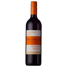 Waitrose Mellow and Fruity Spanish Red