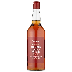 Waitrose 3-Year-Old Blended Scotch Whisky 1 Litre