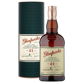 Glenfarclas 21-Year-Old Speyside Single Malt Whisky