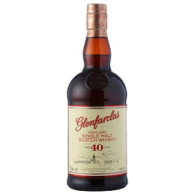 Glenfarclas 40-Year-Old Speyside Single Malt Whisky