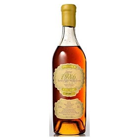 Prunier 1986 Single Vintage Cognac