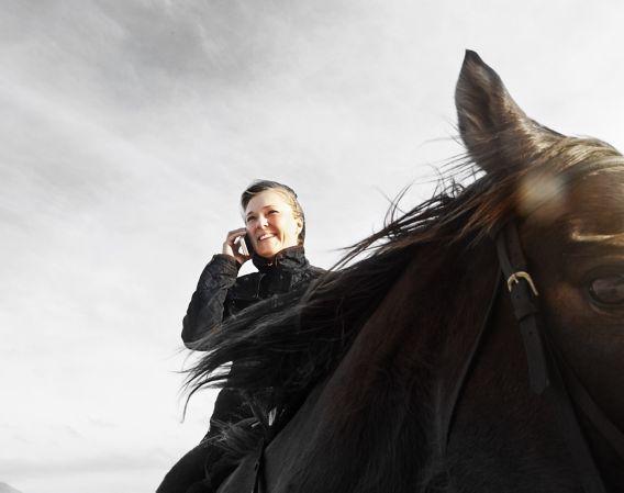 PB Dame på hest Private Banking