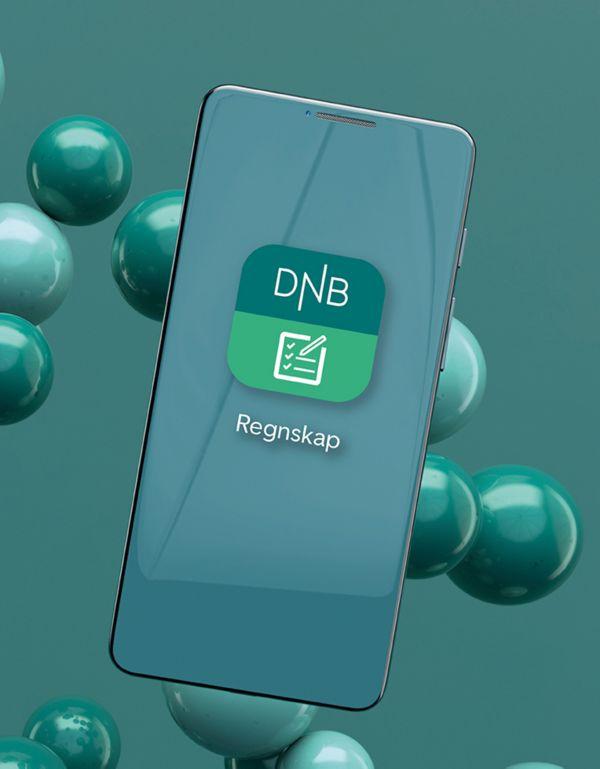 DNB Regnskap av Uni Micro på mobil