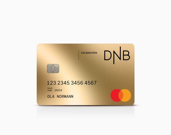 Corporate mastercard