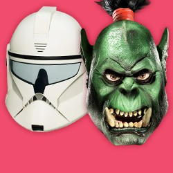 Masken: Film & Fantasy - Filmmasken, Fantasymasken, Lizenzmasken