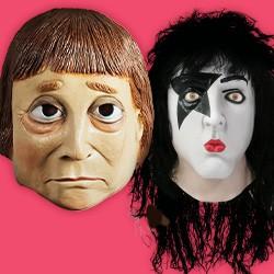Masken: Politiker & Prominente - Masken von Politikern (Politikermasken) & Prominenten (Prominentenmasken)