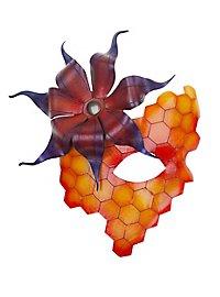 Bienenkönigin Ledermaske