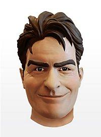 Charlie Sheen Maske aus Latex