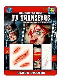 Glasscherben 3D FX Transfers