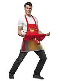 Hot Dog Verkäufer Kostüm