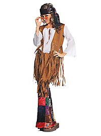Patchwork Hippie Kostüm