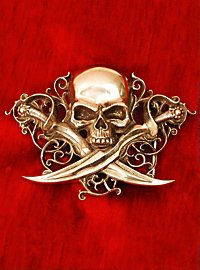 Piratenkapitän Gürtelschnalle