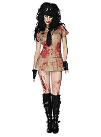 Sexy Zombie Polizistin Kostüm