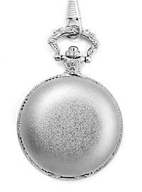 Silberne Taschenuhr