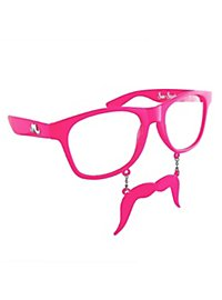 Sun-Staches pink Partybrille