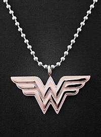 Wonder Woman - Halskette Logo Kupfer