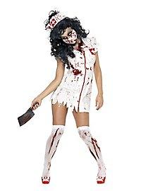 Zombie Sanitäterin Kostüm