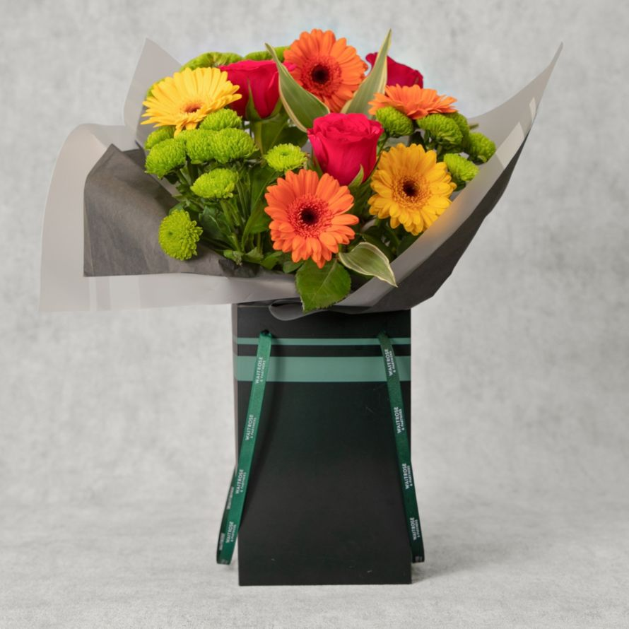 Bright Beautiful Gift Bag Waitrose Florist