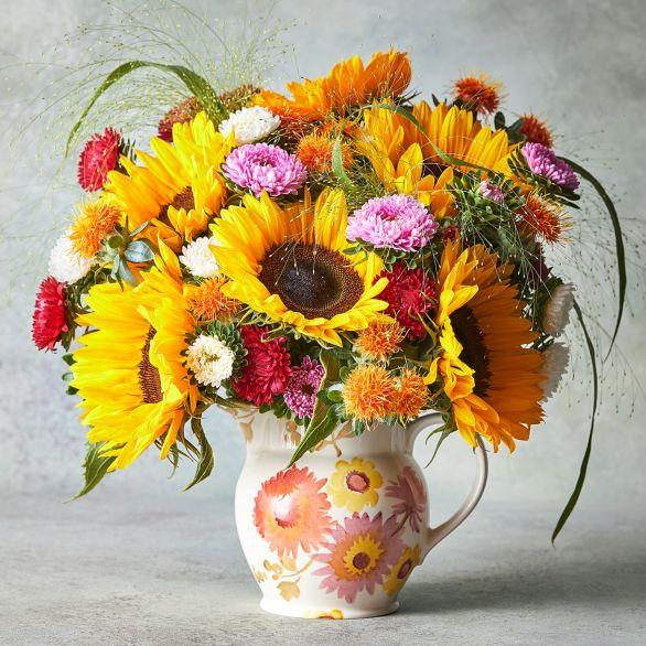 Emma Bridgewater Jug & Large Summer Bouquet Yellow