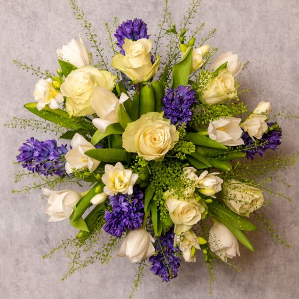 Scented Spring Bouquet Blue