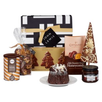 john lewis partners chocolate lovers gift box christmas hampers food gifts waitrose gifts