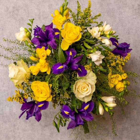 Medium Spring Bouquet Mixed vibrant