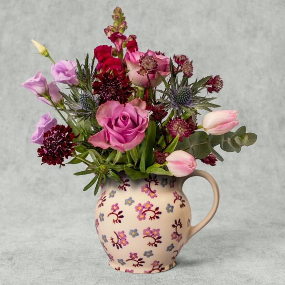 Emma Bridgewater Ranunculus Jug Orange