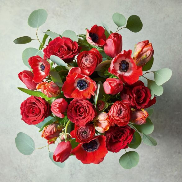 Valentine's Day Passionate Love Bouquet Red