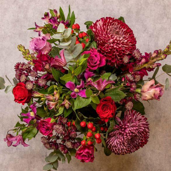 Autumn Glow Bouquet Mixed vibrant
