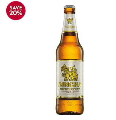 Singha Thai Beer 630ml