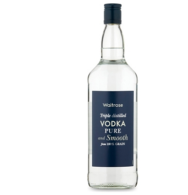 Alcoholic Drinks Waitrose Vodka 1 Litre