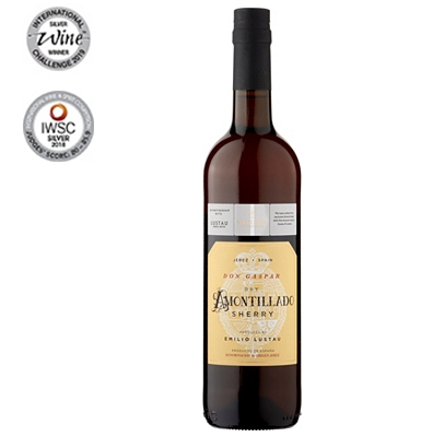 No.1 Don Gaspar Dry Amontillado Lustau Sherry