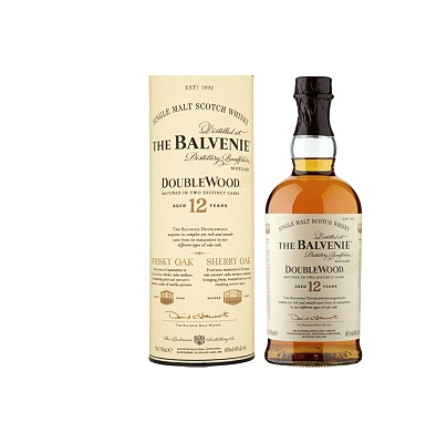 The Balvenie Doublewood 12-Year-Old Speyside Single Malt Whisky