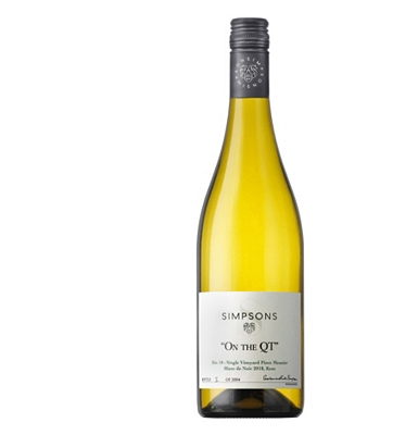 Simpson Estate 'On The QT' Bin 18: Single Vineyard Pinot Meunier Blanc de Noirs