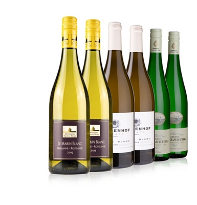Only at Waitrose Cellar Whites Case