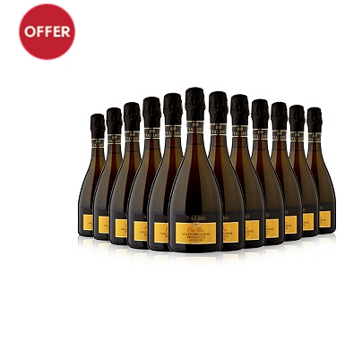 Valdo Oro Puro Prosecco Superiore 12 Bottle Case