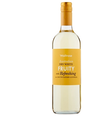 Waitrose Fruity and Refreshing Australian Dry White