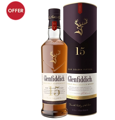Glenfiddich 15 year-old whisky