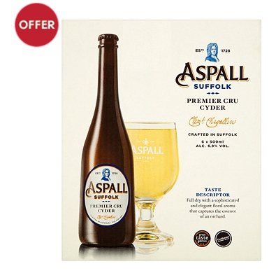 Aspall Suffolk Premier Cru Cyder 6 x 500ml