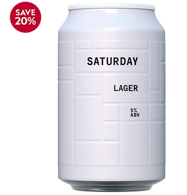 And Union Unfiltered Lager 330ml
