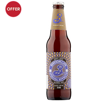 Brooklyn Special Effects Alcohol Free Lager 355ml