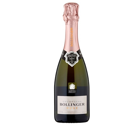 Bollinger Rosé Brut NV Half Bottle