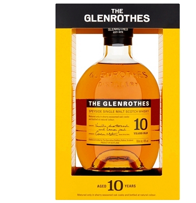 The Glenrothes 10 Years Old Speyside Single Malt