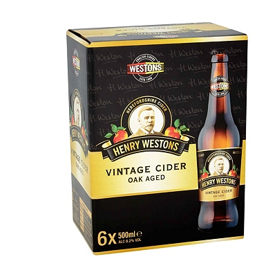Henry Weston's Vintage Cider 6x500ml