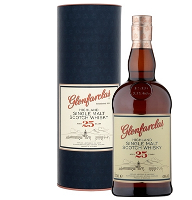 Glenfarclas 25-Year-Old Speyside Single Malt Whisky