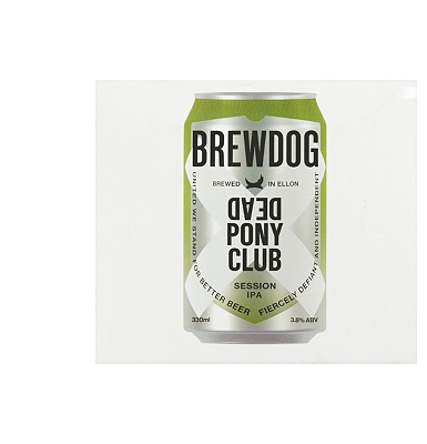 Brew Dog Dead Pony Club 4x330ml cans
