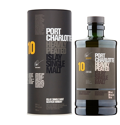 Bruichladdich Port Charlotte 10-Year-Old Whisky